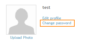 Change Password In My Services